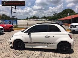 Fiat 500 Abarth White Fiat 500 Abarth Convertible 2016 Color Blanco Con Interior Color