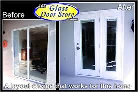 French Door Company - replace sliding glass door with french door sliding doors for