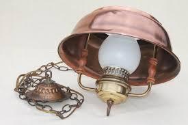 copper farmhouse pendant light farmhouse kitchen pendant l hanging light w antique copper