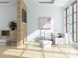 interior of a living room 3d image stock photo picture and