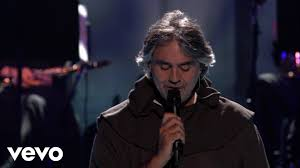 andrea bocelli what child is this live from the kodak theatre