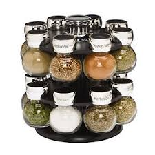 Spice Rack Storage Organizer 16 Jar Revolving Spice Rack Storage Rotating Condiments Herbs