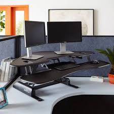 Kangaroo Adjustable Height Desk by Stand Up Desk Converter Corner Best Home Furniture Decoration