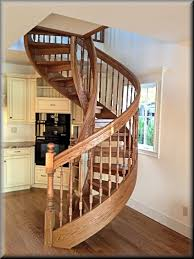 wooden spiral staircase your home decor translatorbox stair