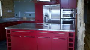 Kitchen Top Materials Countertops Img Stainless Steel Countertops Cabinetry Counter