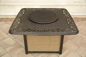 Gas Fire Pit Table Sets - traditions 4 piece outdoor fire pit table set