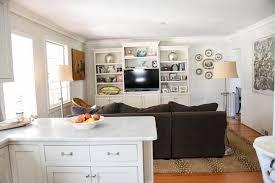 hope u0027s home tour open floor plan kitchen den