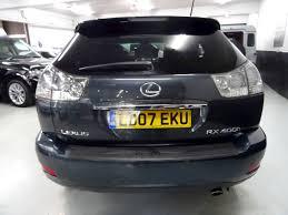 lexus cars sheffield used lexus rx 400h se 2007 sheffield prestige