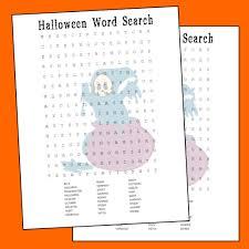 halloween word search printable printables 4 mom