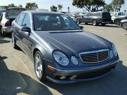 2006 mercedes e55 amg for sale wdbuf76j86a872212 2006 gray mercedes e55 amg on sale in ca
