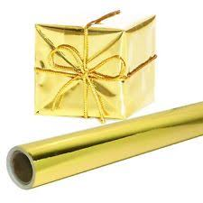 foil wrapping paper gold gift wrapping paper 26 in x 25 roll premium shiny