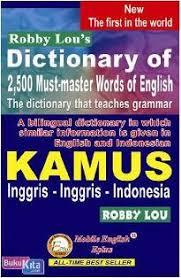 Kamus Bahasa Inggris Category Kamus Bahasa Inggris
