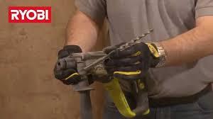 ryobi sds plus rotary electric hammer drill 3 mode 710 watt erh