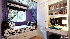 Ideas For Small Bedroom Windows Bedroom Window Seating And Desk With Bookshelves For Teen Small