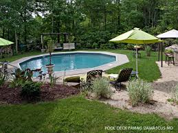 pool deck paving baltimore md pool deck repairs new projects