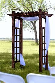 wood trellis u2013 tents and events wisconsin