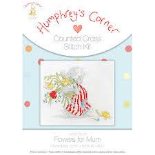 Flowers For Mum - humphrey u0027s corner hcxs 0413 flowers for mum cross stitch kit