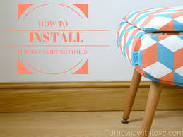 Skirting Laminate Flooring How To Install Flooring And Skirting Boards Diy From Evija With Love