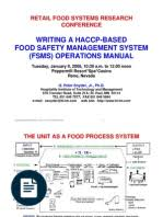 haccp plan template hazard analysis and critical control points