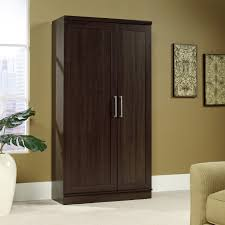 Kitchen Storage Cabinets With Glass Doors Furniture Rectangle Wooden Kitchen Storage Cabinet With Doors And