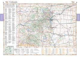 Colorado Maps by Colorado Benchmark Road U0026 Recreation Atlas Benchmark Maps