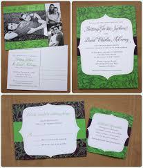 Wedding Invitation Cards Online Order Apple Green U0026 Eggplant Purple Floral Pattern And Modern Frame