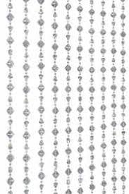Beaded Curtains Perth Wedding Backdrop Beaded Curtain With Clear Beads 3 Feet Wide 6