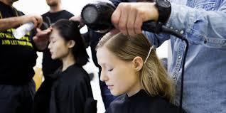 chignon séché comment cuisiner idées coiffures avec sèche cheveux