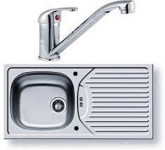 Sink For Kitchen Kitchen Sink Waste Tap 860x435mm Reversible Pyramis Py Sink