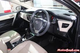 suzuki every interior auto expo new toyota corolla altis interior pics u0026 details