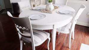dining room table makeover ideas amazing chalk paint kitchen dining table youtube painting room