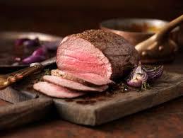 herb and spice beef tenderloin roast with dijon mustard