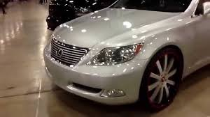 lexus forgiato dub show miami 2014 lexus ls460 on 24 forgiato concavo playing