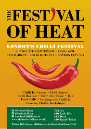 london pop ups the 2016 u0027festval of heat u0027 chilli festival at the