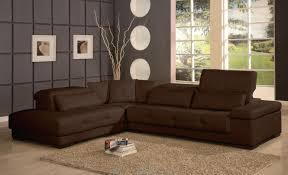 sofa l shape sofa l shape dark brown velvet sofa with folding back placed on