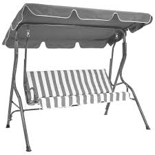 Garden Winds Replacement Swing Canopy by Charles Bentley 2 Seater Garden Swing Seat Buydirect4u