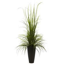 indoor plants wayfair nearly natural river grass floor plant in