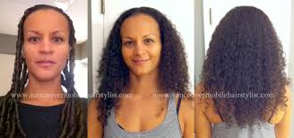 cutting biracial curly hair styles my trademark curly haircut as a hair makeover on mixed race hair