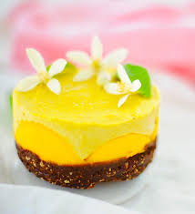 mini raw mango cheesecake vegan gf u2013 sunnysidehanne