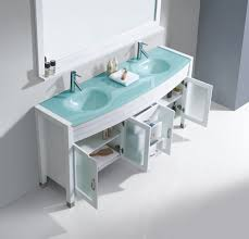 Virtu Bathroom Accessories by Virtu Usa Ava 63 Double Bathroom Vanity Set In White Bathtubs Plus