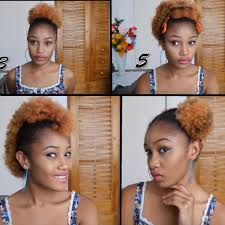 a quick and easy hairstyle i can fo myself new quick and easy natural hairstyles for short hair bravodotcom com