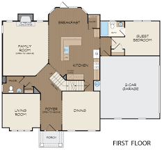 Springs Floor Plans by Beacon Hill Floor Plan At Lakeview At Laurel Springs In Suwanee
