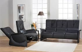 canap himolla canapé classique en cuir 3 places inclinable cumuly 4006