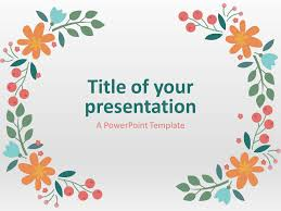 Spring Powerpoint Templates Eievui Info Ppt Tempelate
