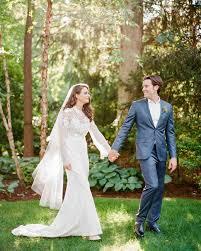 an intimate backyard wedding in new york martha stewart weddings