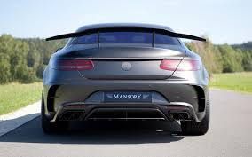 mansory cars 2015 mercedes benz s 63 amg coupe black edition by mansory 2015