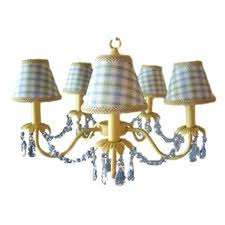 Bear Chandelier Order Now Camillah 5 Light Shaded Chandelier By Silly Bear