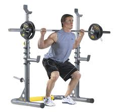 Weight Bench With Spotter Gold U0027s Gym Xrs 20 Olympic Bench Review