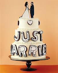 just married cake cakes pinterest unique wedding cakes