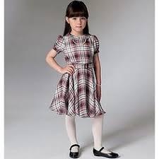 dress pattern john lewis vogue lynn mizono girls reversible bow detail dress sewing pattern